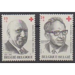 Belgique - 1987 - No 2241/2242 - Santé ou Croix-Rouge