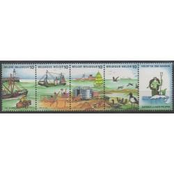 Belgique - 1988 - No 2273/2276 - Environnement