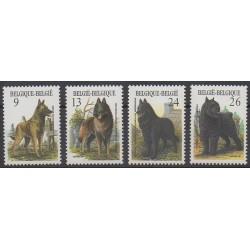 Belgium - 1986 - Nb 2213/2216 - Dogs