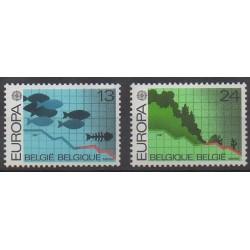 Belgique - 1986 - No 2211/2212 - Environnement - Europa