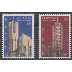 Belgium - 1987 - Nb 2251/2252 - Architecture - Europa