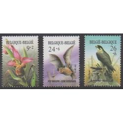 Belgique - 1987 - No 2244/2246 - Environnement - Mammifères