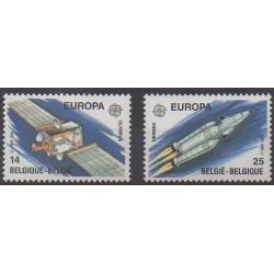 Belgique - 1991 - No 2406/2407 - Espace - Europa