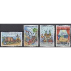 Belgique - 2008 - No 3782/3785 - Folklore