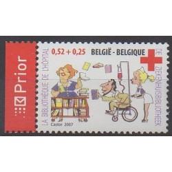 Belgique - 2007 - No 3606 - Santé ou Croix-Rouge