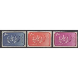 Formose (Taïwan) - 1958 - No 259/261 - Santé ou Croix-Rouge