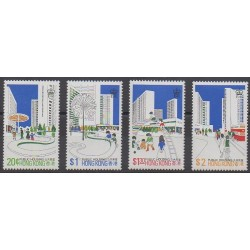 Hong Kong - 1981 - Nb 369/372