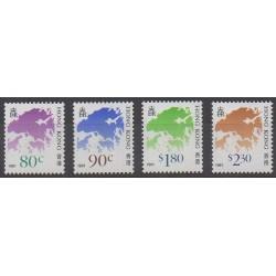 Hong Kong - 1991 - Nb 664A/664D