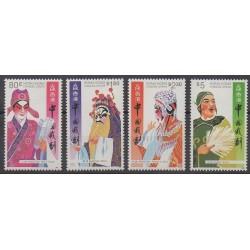 Hong-Kong - 1992 - No 703/706 - Costumes