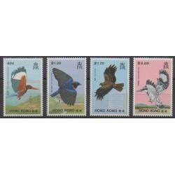 Hong-Kong - 1988 - No 528/531 - Oiseaux