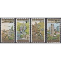 Hong Kong - 1988 - Nb 536/539 - Transport