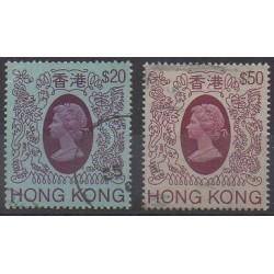 Hong-Kong - 1985 - No 464/465 - Oblitérés