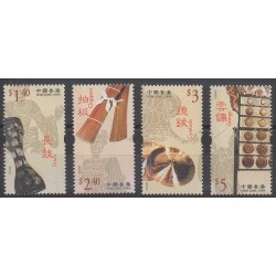 Hong-Kong - 2003 - No 1087/1090 - Musique