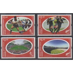 Hong Kong - 2004 - Nb 1105/1108 - Various sports