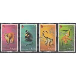 Hong Kong - 2004 - Nb 1101/1104 - Horoscope