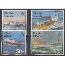 Pitcairn - 1985 - Nb 256/259 - Boats
