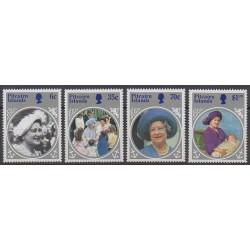 Pitcairn - 1985 - No 252/255 - Royauté - Principauté