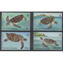 Pitcairn - 1986 - Nb 264/267 - Reptils