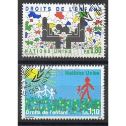 United Nations (UN - Geneva) - 1991- Nb 210/211 - Childhood - Used