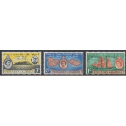 Pitcairn - 1961 - Nb 32/34