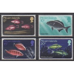 Pitcairn - 1970 - No 113/116 - Animaux marins