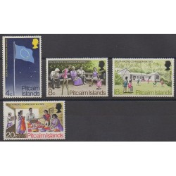 Pitcairn - 1972 - Nb 122/125
