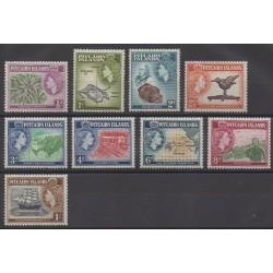 Pitcairn - 1957 - Nb 20/28