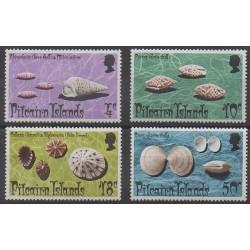 Pitcairn - 1974 - Nb 135/138 - Sea animals