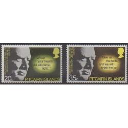 Pitcairn - 1974 - No 142/143 - Célébrités