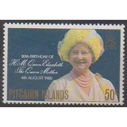Pitcairn - 1980 - No 189 - Royauté - Principauté