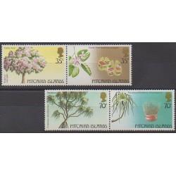 Pitcairn - 1983 - No 227/230 - Arbres - Artisanat ou métiers