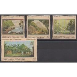 Pitcairn - 1985 - No 248/251 - Peinture