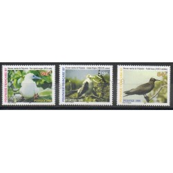 Polynésie - 1996- No 510/512 - Oiseaux