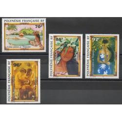 Polynésie - 1996- No 520/523 - Peinture