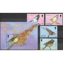 Montserrat - 2003- No 1112/1115 - BF 96 - Oiseaux