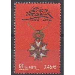 France - Poste - 2002 - No 3490 - Monnaies, billets ou médailles