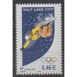 France - Poste - 2002 - No 3460 - Jeux olympiques d'hiver