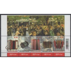 Belgium - 2007 - Nb 3592/3596 - Music