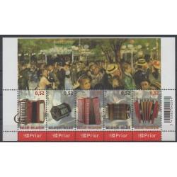 Belgique - 2007 - No 3592/3596 - Musique