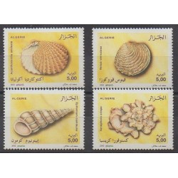 Algeria - 2002 - Nb 1328/1331 - Sea animals