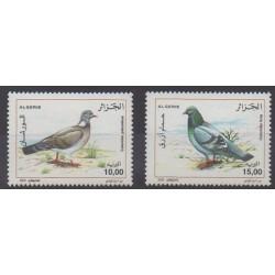 Algérie - 2005 - No 1391/1392 - Oiseaux