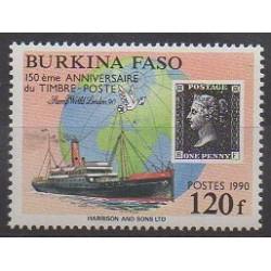 Burkina Faso - 1990 - No 817 - Timbres sur timbres - Philatélie