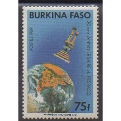Burkina Faso - 1989 - Nb 801 - Cinema