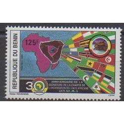 Benin - 1993 - Nb 705 - Various Historics Themes