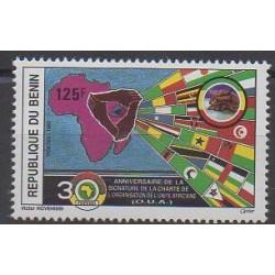 Bénin - 1993 - No 705 - Histoire