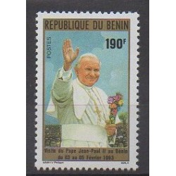 Benin - 1993 - Nb 703 - Pope
