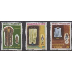 Bénin - 1984 - No 591/593 - Costumes