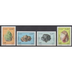 Algérie - 2002 - No 1315/1318 - Minéraux - Pierres précieuses