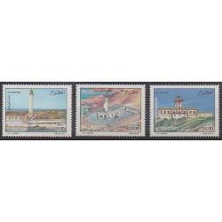Algérie - 2002 - No 1319/1321 - Phares