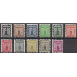 Germany - 1938 - Nb S105/S115 - Mint hinged